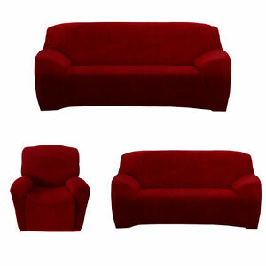 Stretch Chair Couch Cover 3 Seater Recliner 1seat Loveseat