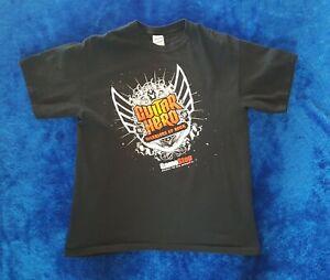 Guitar Hero T-Shirt Size L Activision Gamestop Video Game Launch Promo Shirt!