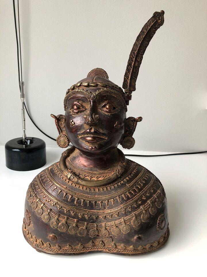 Tribal art Bronzefigur