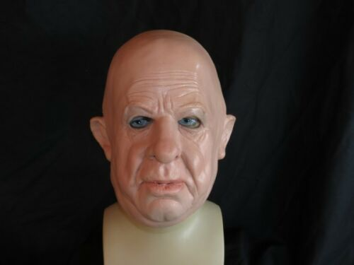 "Greyland Film Soft Latex Mask /""Professor Howard/"" Bald Man Realistic Mask"
