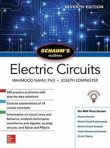 Schaum S Outline Of Electric Circuits By Joseph Edminister And