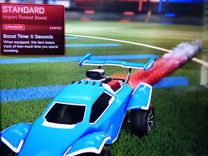 all painted standard rocket boost trails rocket league xbox one