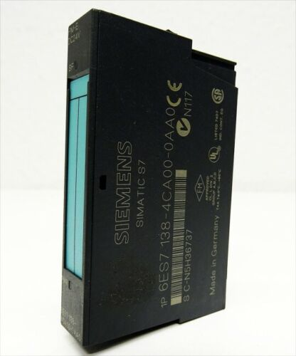06 used Siemens Simatic S7 6ES7 138-4CA00-0AA0 6ES7138-4CA00-0A E-Stand