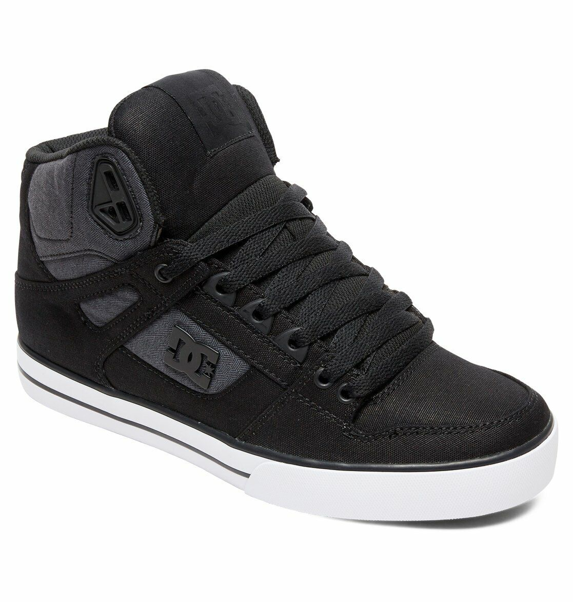 DC schuhe Men PURE HIGH TOP WC TX SE- schwarz dark used - KLASSIKER