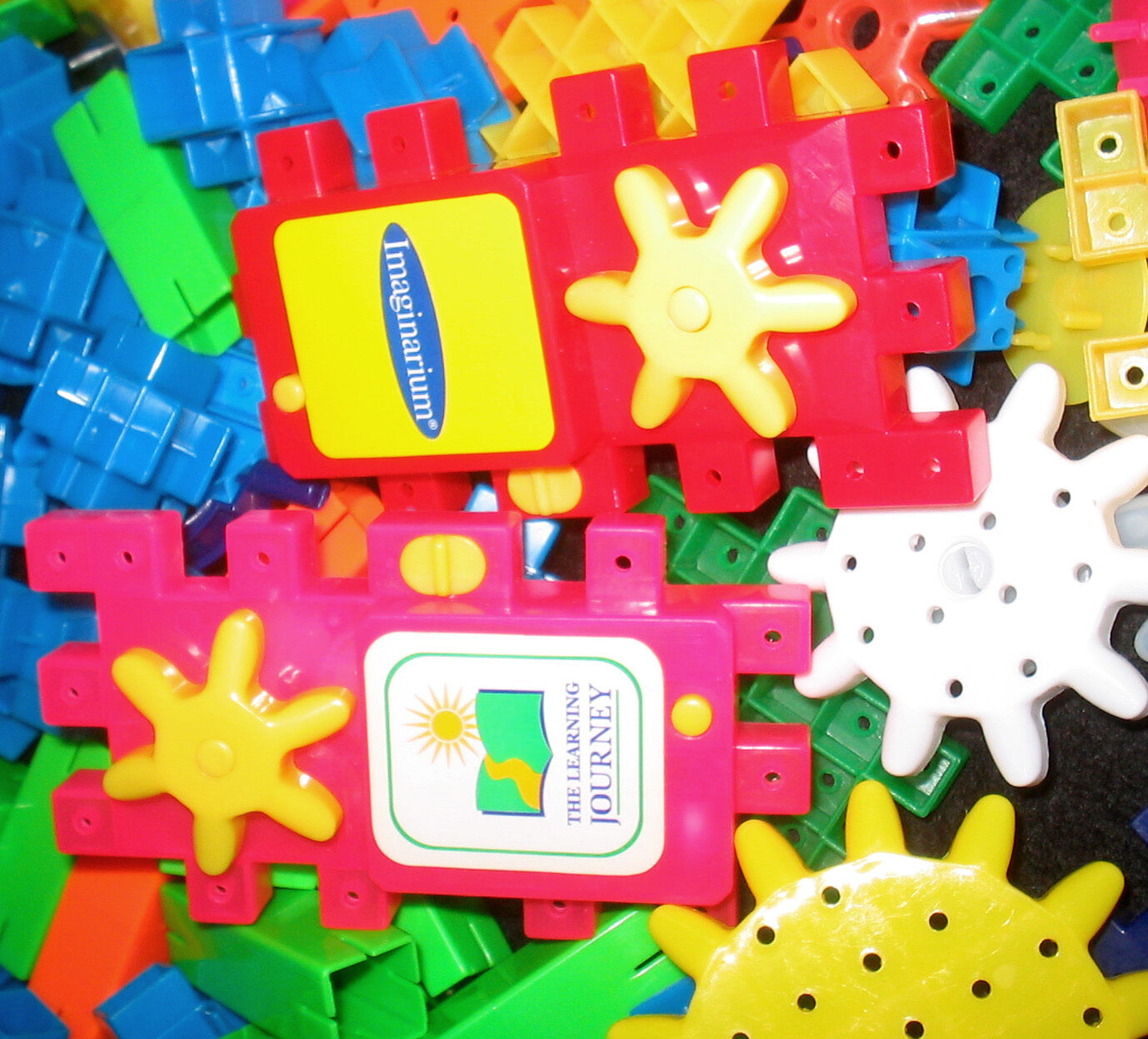 Learning Learning Learning Journey   Imaginarium TECHNO GEARS Building Contruction Toy 6b1311