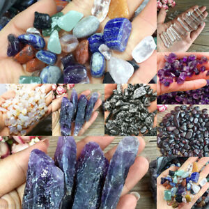 Lots-Natural-Crystal-Quartz-Stone-Rock-Gravel-Chip-Mineral-Specimen-Healing-HOT