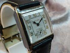 Bulova vintage manual wind watch 1929 10AN Square white dial Rare