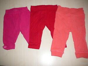 3-tolle-Baby-Hosen-Leggings-Gr-68-C-amp-A-Dopodopo-in-tollen-Farben