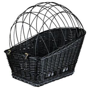 Trixie Panier De Vélo Avec Grille, 35×49×55 Cm Noir