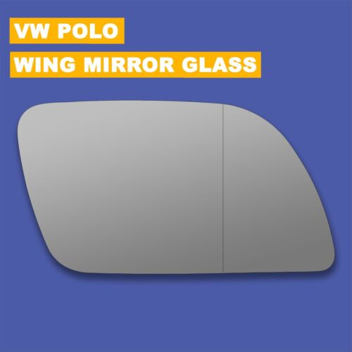 For VW Polo wing mirror glass 02-05 Right Driver side Aspherical Blind Spot