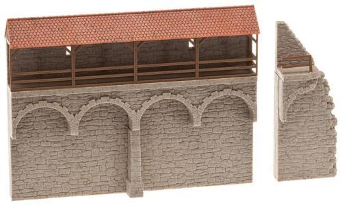 Faller h0 130404 centro storico muro #neu in OVP #