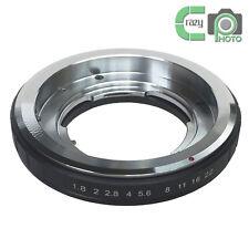 DKL-Nikon Voigtlander Bessamatic Retina Deckel Lens to Nikon AI Adapter Black