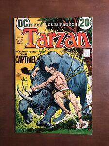 Tarzan #212 (1972) 8.0 VF DC Bronze Age Comic Book High Grade Joe Kubert Cover