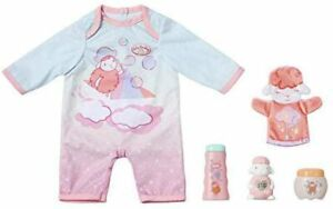 Zapf-Creation-Baby-Annabell-Baby-Care-Outfit-amp-Accessories-Set-for-43cm-Dolls