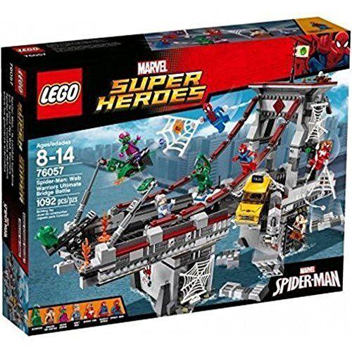 sconto LEGO ® 76057 Marvel Super Heros ULTIMATE Bridge BATTLE BATTLE BATTLE NUOVO OVP nuovo SEALED  supporto al dettaglio all'ingrosso