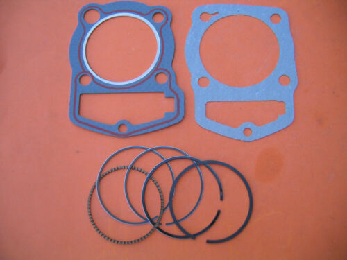 Rings STD //Cylinder Gasket Head /& Base Gaskets Honda CB125S CL125S XL125 SL125