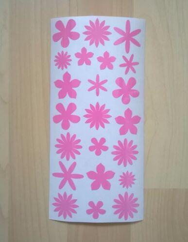 Fun Vinyl Stickers Flowers Lips Hearts Cherries Butterflies Shapes