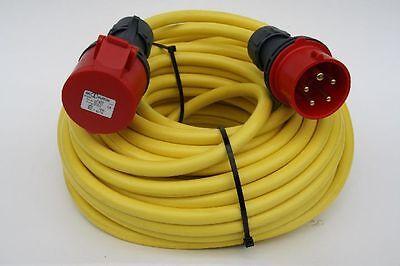 Kabel Cee Starkstromkabel 40m 32a Verlängerungskabel 5x2,5mmn Klar Und GroßArtig In Der Art