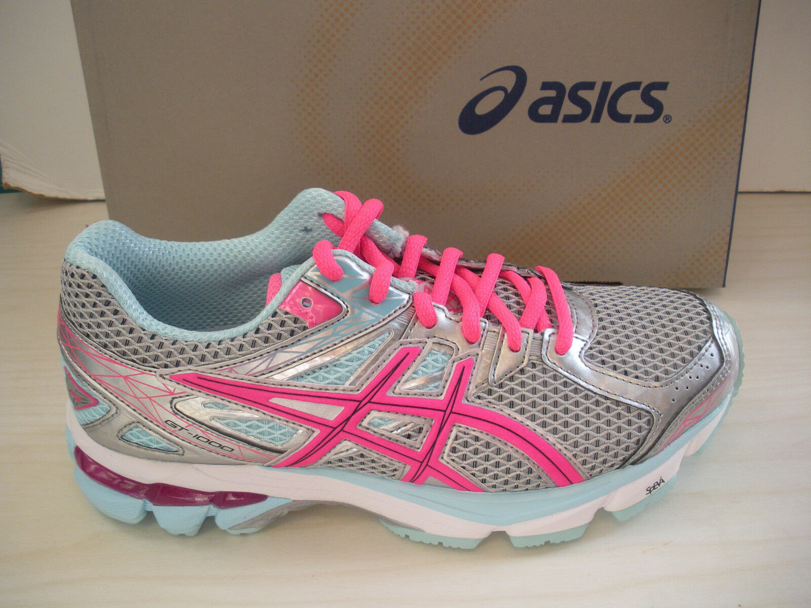ASICS WOMENS GT-1000 3 RUNNING SHOES-SNEAKERS -T4K8N-9135- LIGHTNING - 6.5,9.5 New shoes for men and women, limited time discount