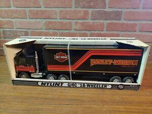 Nylint Toys No. 911-Z GMC Semi Cabover Harley Davidson - Pressed Steel 99225-86V