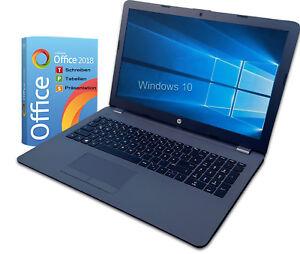 "HP Notebook 15"" - N4000 Intel 2x 2,60GHz -  4GB - 1TB - Win10 - Office 2018 +CD"