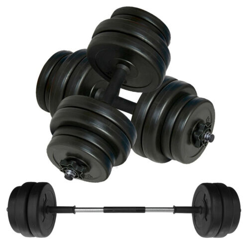 Vinyl Weight Set for Home /& Gym Fitness Training Workout Dumbbell Weights Set