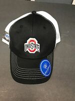 Ohio State Buckeyes Adjustable Hat 16 Bowl Hat o W/ohio State On Front Black