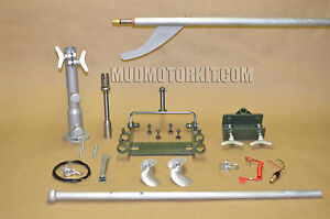Complete Longtail Mud Motor Kit Up To 7 Hp Duck Boat Ebay
