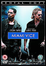 1 of 1 - BRAND NEW MIAMI VICE DVD: REGION 2,5 PAL DVD RATED 15 JAMIE FOXX, COLIN FARRELL