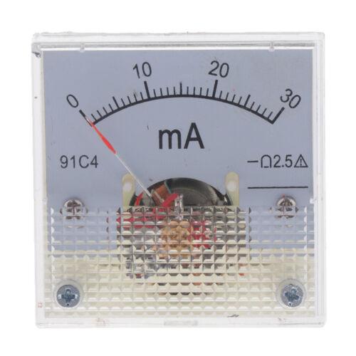 für Auto Circuit Measurement Amp Amperemeter Gauge Meter Analog Current Panel