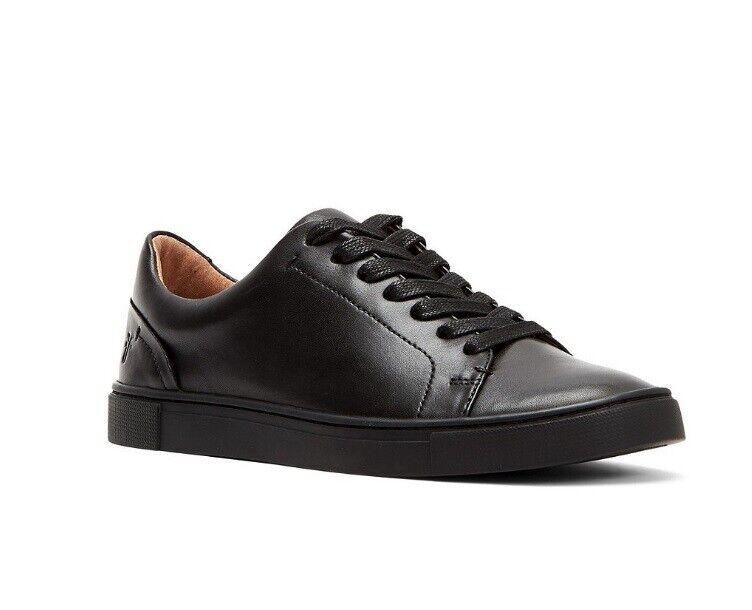 FRYE 3470361 Ivy Low LACE Black Soft Full Grain Women's Sneakers