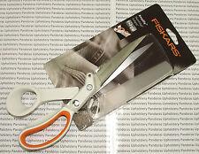 Fiskars 24cm Amplify RazorEdge Softgrip Thick Fabric Professional Scissors 9162S