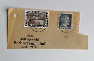 Deutsches Reich MiNr 498; 781 Chicagofahrt? Gestempelt 1943!?? Ungeprüft