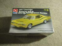 Amt Ertl 1967 Chevrolet Impala Street Machine 1/25 Model Kit Misb Sealed 1997