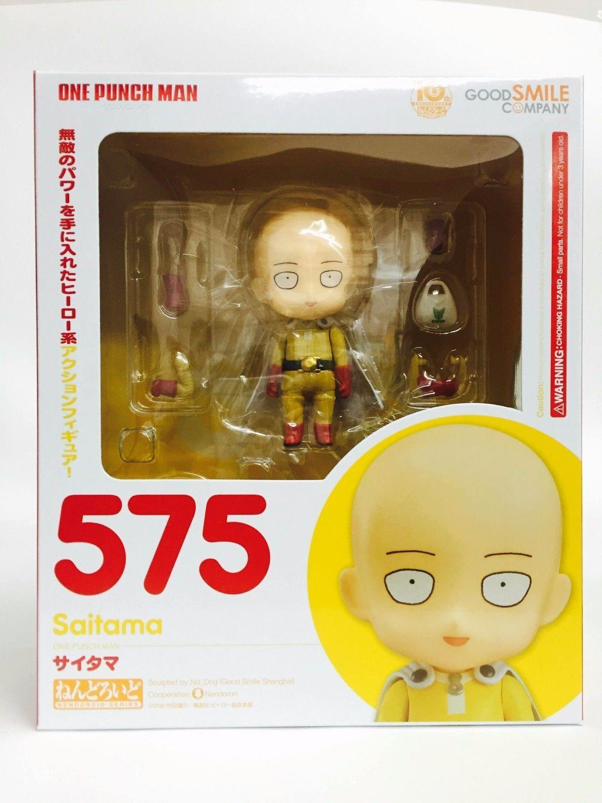 Good Smile Company ONE-PUNCH MAN Saitama Nendgoldid Action Figure ORIGINALE