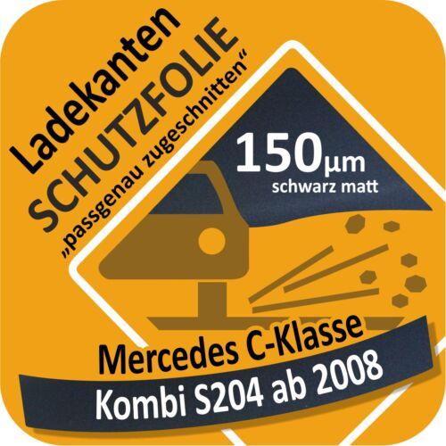 C-Klasse Kombi S204 T Ladekantenschutz Folie Lackschutzfolie Autoschutz 150 µm