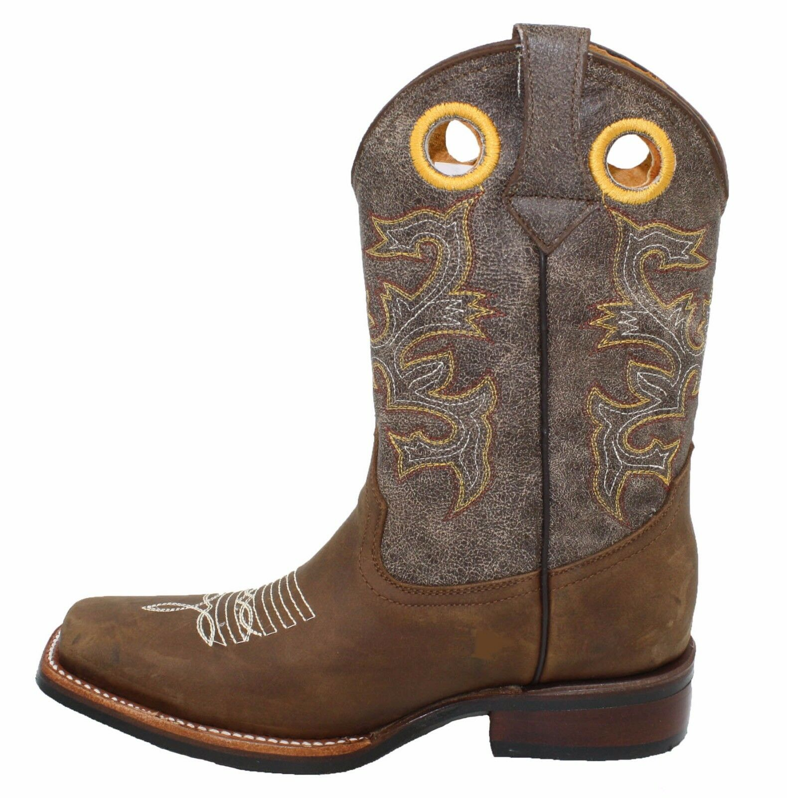 Genuine rodeo leather ladies cowboy western rodeo Genuine decorative shaft boots best prices 32b2bf
