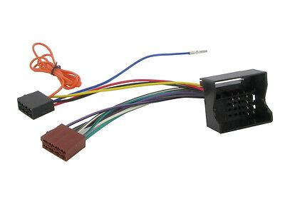 Ct20ct02 citr0en Berling 2006 En Adelante Quadlock ISO Plomo Stereo Unidad Principal Adaptador