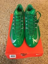 Oregon Ducks Nike Vapor Carbon Elite 2014 D Football Cleats Mens Size 11