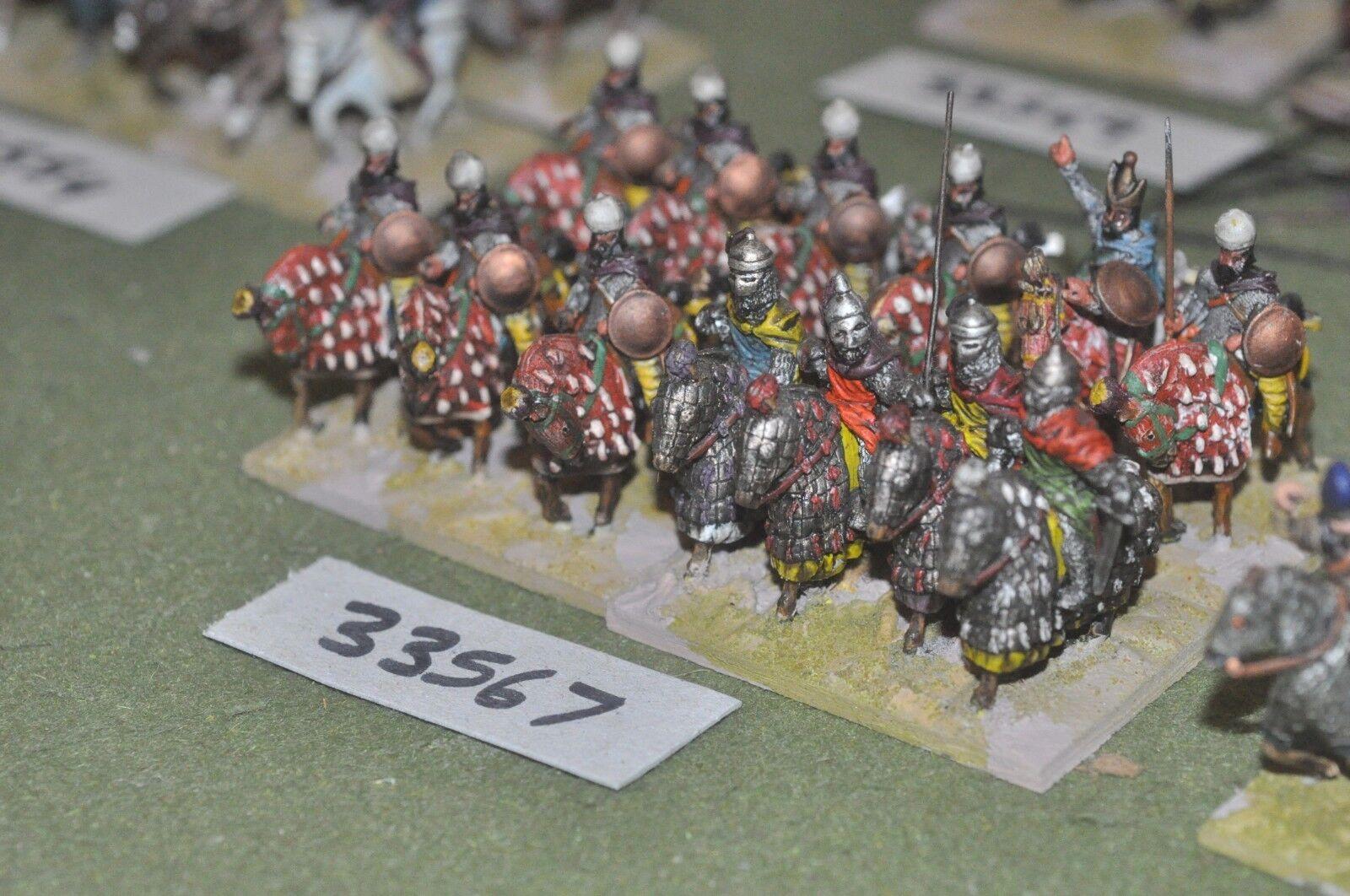 25mm roman era   persian - heavy 12 figures - cav (33567)