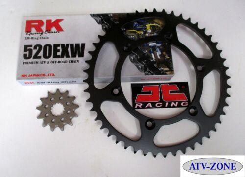 RK  520EXW Chain and JT Sprocket Kit Suzuki RM Z250 2010-2012