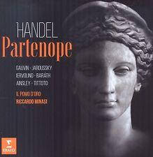 JAROUSSKY/IL POMO D'ORO/MINASI - PARTENOPE 3 CD NEU HÄNDEL,GEORG FRIEDRICH