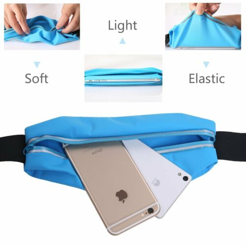 Water-Resistant Sports Running Gym Adjustable Waist Bag Case for Huawei Phones