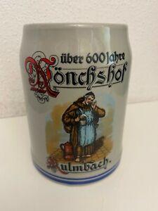 Tonkug Top Mönchshof Bier Kulmbach Bierkrug