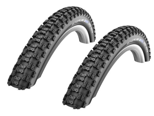 "2 Stück Schwalbe Mad Mike Fahrrad Reifen 20x2,125/"" //// 57-406 BMX, Kinderrad"