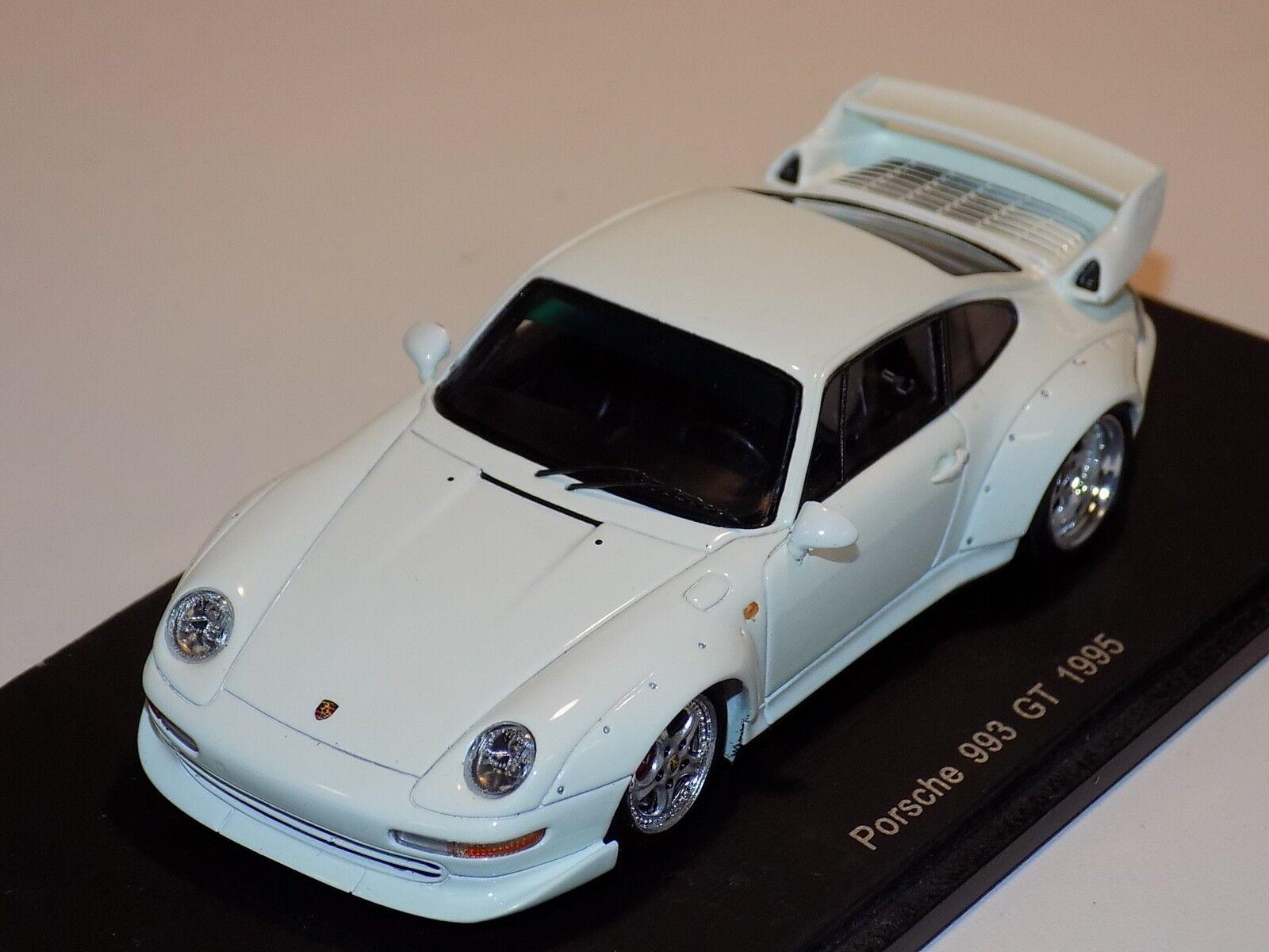 1/43 Spark Porsche 911 993 GT desde 2018 en Blanco S4196
