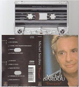 MICHEL-SARDOU-cassette-K7-tape-FRANCAIS-cette-chanson-la