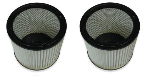 2 pièces lavables filtre pour Parkside PNTS 1250 1250//9 Filtre plissé