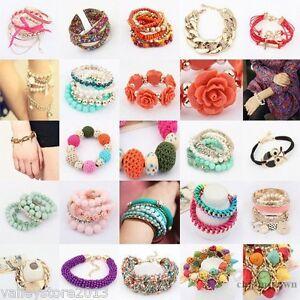 NEW LOT 100 FASHION EARRINGS Hoop Dangle Rings Necklaces Bracelets Bangles Mixed