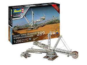Revell 05685 Bausatz Schaufelradbagger 289 1 200 limitiert